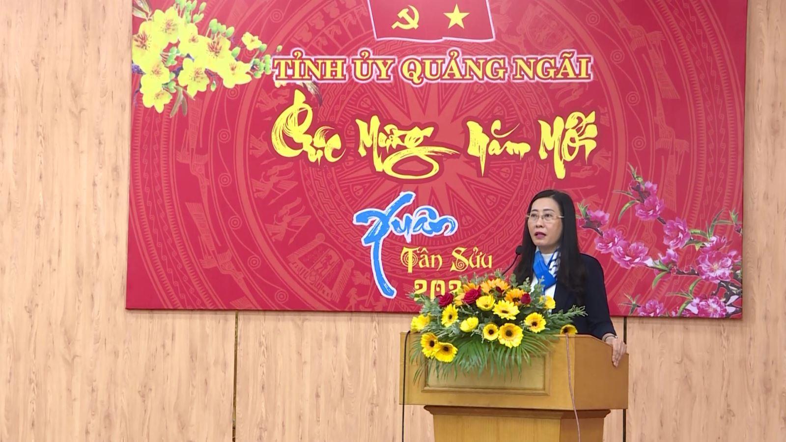 Tỉnh ủy Quảng Ngãi gặp mặt chúc tết lãnh đạo chủ chốt của tỉnh qua các thời kỳ